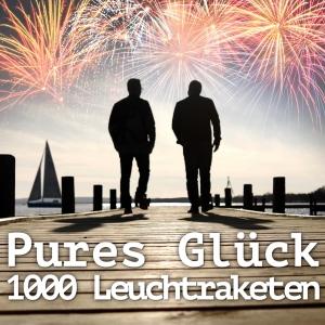 1000 Leuchtraketen - Pures Glück