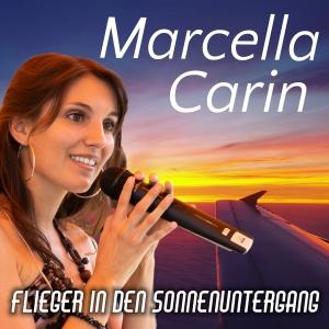 Marcella Carin - Flieger in den Sonnenuntergang